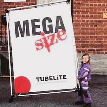 TUBE A Shop 100x150cm A-teline