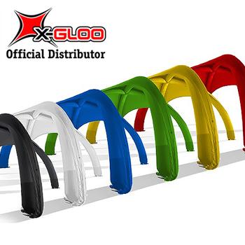 X-Gloo Colors 4x4 Mainosteltta