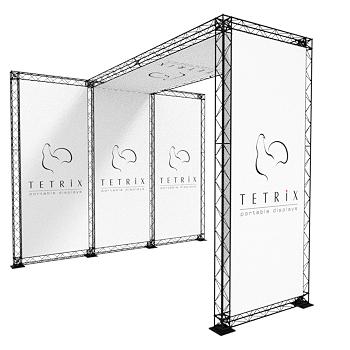 EKSTRA: Gate L-100x100x250 TRUSS
