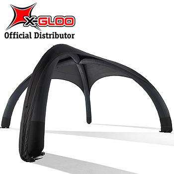 X-Gloo Black 4x4 Mainosteltta