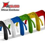 X-Gloo Colors 4x4 Reklamtält