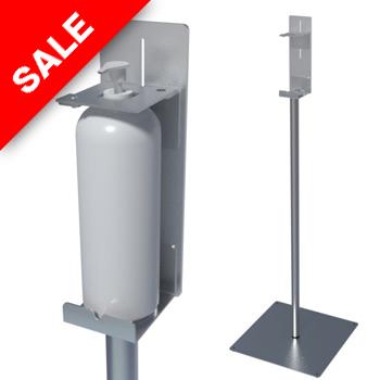 Kaikki DesiStand latialla seisovat käsihuuhde automaatit hinta tuotetieto malli koko