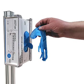 GLOVE-BOX Maskien ja käsineiden jakeluautomaatti. Annostelulaite maskeille ja kumihanskoille