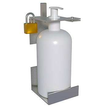 LockDispenser yhden litran kokoisille pumppupulloille