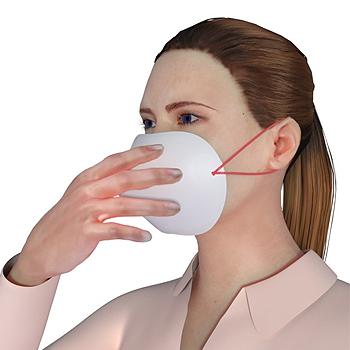 StopSneeze pisarasuoja maski