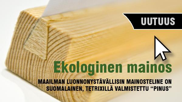 Ekologinen markkinointi luonnonystävällinen mainos