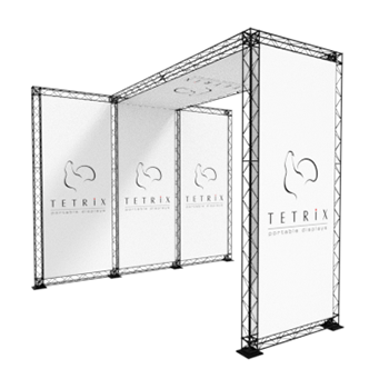 Light Weight Truss exhibition stand