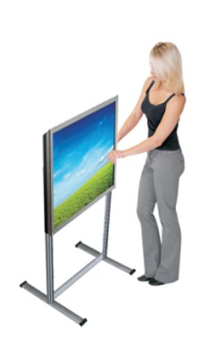 Näyttöteline ALU, TV ja monitori teline